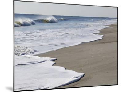 Spraying Surf Rolls Toward the Beach-Mauricio Handler-Mounted Photographic Print