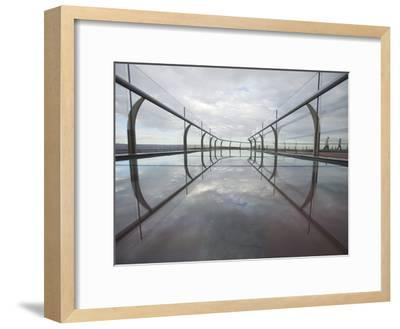 A View of the Skywalk over the Grand Canyon-John Burcham-Framed Photographic Print