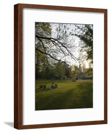 Late Afternoon in Piedmont Park in Midtown, Atlanta-Krista Rossow-Framed Photographic Print