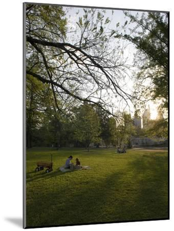 Late Afternoon in Piedmont Park in Midtown, Atlanta-Krista Rossow-Mounted Photographic Print