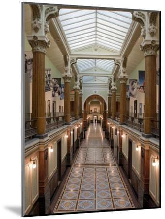Ornate Interior and Tiled Floor at the National Gallery-Greg Dale-Mounted Photographic Print