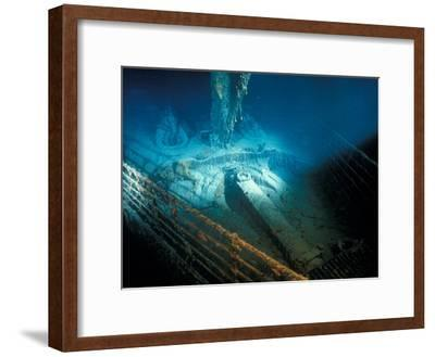 "Prow Railing of the R.M.S. ""Titanic""-Emory Kristof-Framed Photographic Print"