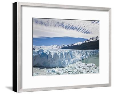 The Massive Perito Moreno Glacier Wall and Ice That Broke Off of It-Mike Theiss-Framed Photographic Print