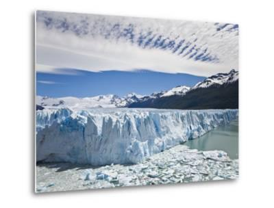 The Massive Perito Moreno Glacier Wall and Ice That Broke Off of It-Mike Theiss-Metal Print