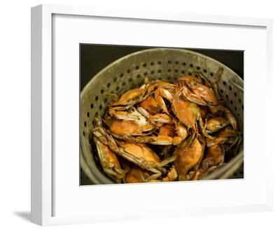 A Basket of Maryland Crabs-Aaron Huey-Framed Photographic Print