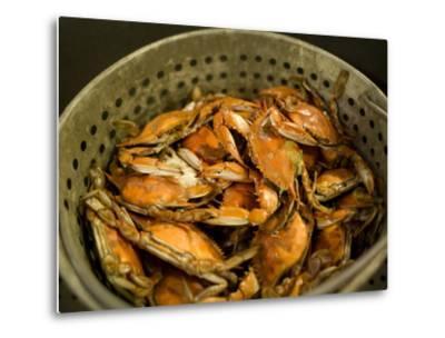 A Basket of Maryland Crabs-Aaron Huey-Metal Print