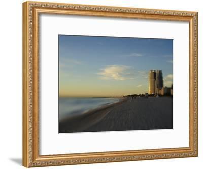 Miami Beach at Twilight-Raul Touzon-Framed Photographic Print