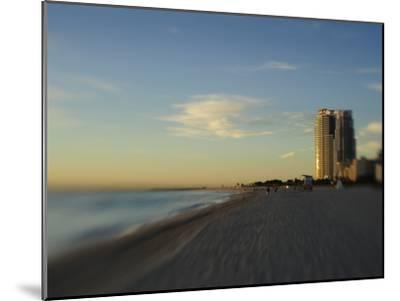 Miami Beach at Twilight-Raul Touzon-Mounted Photographic Print