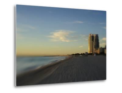 Miami Beach at Twilight-Raul Touzon-Metal Print