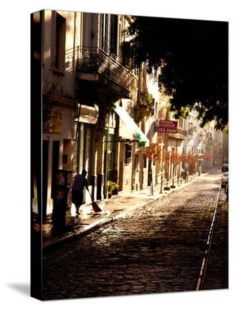 The Old Buenos Aires Neighborhood of San Telmo-Michael S^ Lewis-Stretched Canvas Print