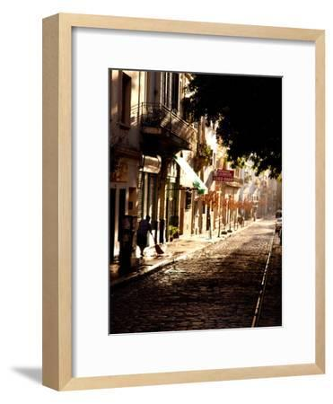 The Old Buenos Aires Neighborhood of San Telmo-Michael S^ Lewis-Framed Photographic Print
