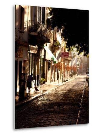 The Old Buenos Aires Neighborhood of San Telmo-Michael S^ Lewis-Metal Print