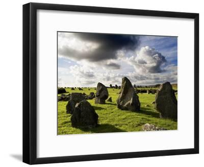 Beaghmore Stone Circles in County Tyrone, Northern Ireland-Chris Hill-Framed Photographic Print