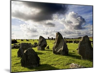 Beaghmore Stone Circles in County Tyrone, Northern Ireland-Chris Hill-Mounted Photographic Print
