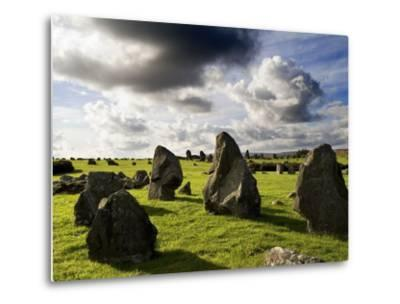 Beaghmore Stone Circles in County Tyrone, Northern Ireland-Chris Hill-Metal Print