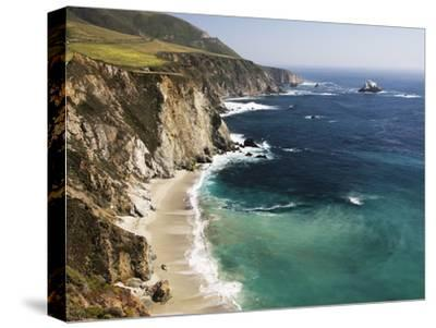 Scenic Elevated View of the Big Sur Coast-Marc Moritsch-Stretched Canvas Print
