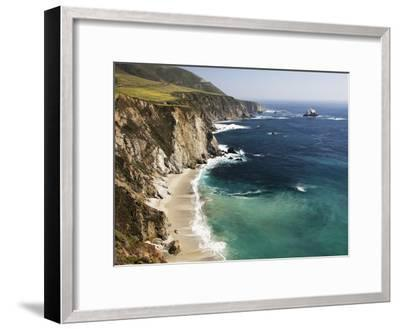 Scenic Elevated View of the Big Sur Coast-Marc Moritsch-Framed Photographic Print