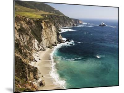 Scenic Elevated View of the Big Sur Coast-Marc Moritsch-Mounted Photographic Print