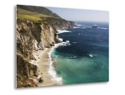 Scenic Elevated View of the Big Sur Coast-Marc Moritsch-Metal Print