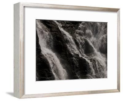Waterfalls at Walter Sisulu Botanical Gardens-Beverly Joubert-Framed Photographic Print