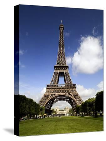 Eiffel Tower in Paris-Chris Hill-Stretched Canvas Print