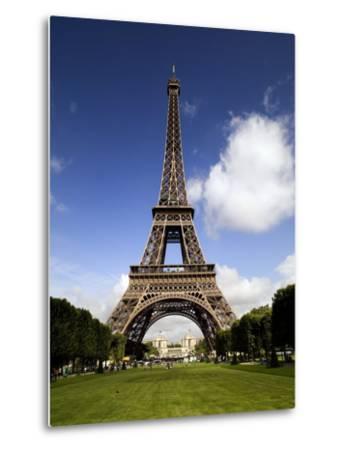 Eiffel Tower in Paris-Chris Hill-Metal Print