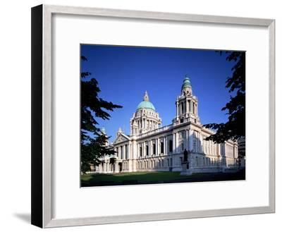 The City Hall in Belfast-Chris Hill-Framed Photographic Print