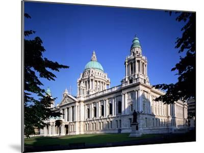 The City Hall in Belfast-Chris Hill-Mounted Photographic Print