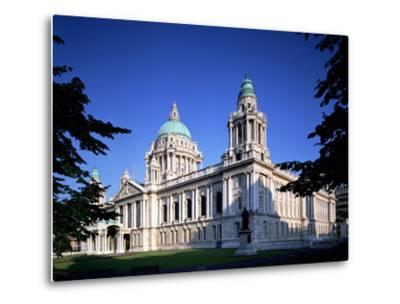 The City Hall in Belfast-Chris Hill-Metal Print