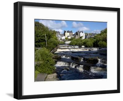Cascades of Ennistymon in County Clare-Chris Hill-Framed Photographic Print