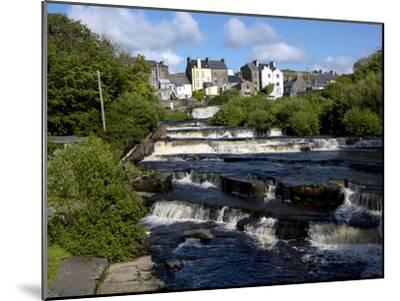 Cascades of Ennistymon in County Clare-Chris Hill-Mounted Photographic Print