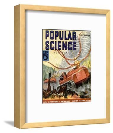 Front Cover of Popular Science Magazine: December 1, 1930--Framed Art Print
