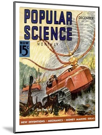 Front Cover of Popular Science Magazine: December 1, 1930--Mounted Art Print
