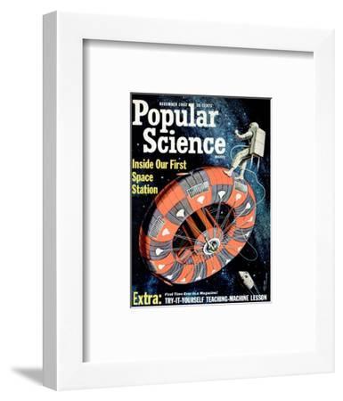 Front cover of Popular Science Magazine: December 1, 1962--Framed Art Print
