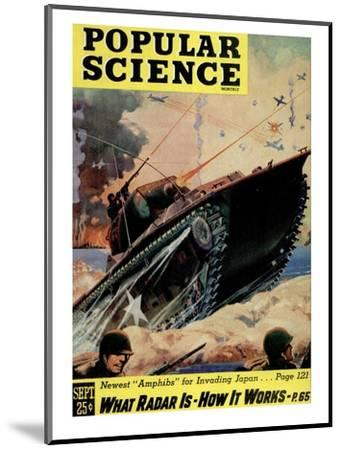 Front cover of Popular Science Magazine: September 1, 1940--Mounted Art Print