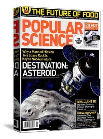 Front cover of Popular Science Magazine: November 1, 2007--Stretched Canvas Print