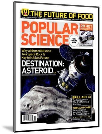 Front cover of Popular Science Magazine: November 1, 2007--Mounted Art Print