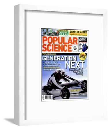 Front cover of Popular Science Magazine: September 1, 2008--Framed Art Print