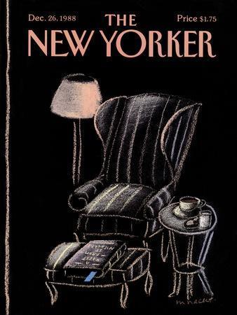 The New Yorker Cover - December 26, 1988--Framed Premium Giclee Print
