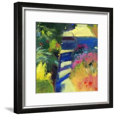 Whitney's Garden-Lou Wall-Framed Giclee Print