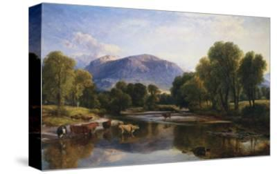 Reflections of a Highland Landscape, Scotland-Henry Brittan Willis-Stretched Canvas Print