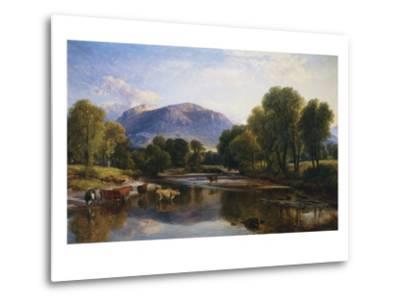 Reflections of a Highland Landscape, Scotland-Henry Brittan Willis-Metal Print