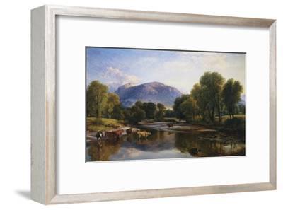 Reflections of a Highland Landscape, Scotland-Henry Brittan Willis-Framed Giclee Print