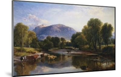 Reflections of a Highland Landscape, Scotland-Henry Brittan Willis-Mounted Giclee Print