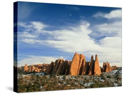 USA, Utah, Arches National Park-Frank Lukasseck-Stretched Canvas Print