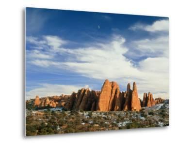 USA, Utah, Arches National Park-Frank Lukasseck-Metal Print