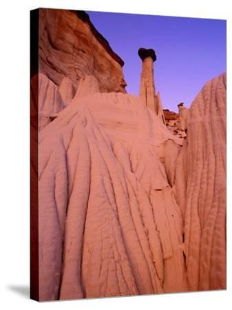 Wahweap Hoodoos, Grand Staircase Escalante National Park, Arizona, USA-Frank Krahmer-Stretched Canvas Print
