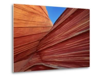 Rock formation, Utah, USA-Theo Allofs-Metal Print