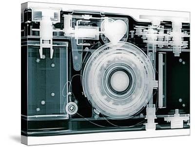 X-ray of Camera-Simon Marcus-Stretched Canvas Print