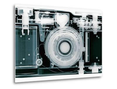 X-ray of Camera-Simon Marcus-Metal Print